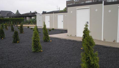 Lagerboxen und Kellerersatzräume im urbanen Wohnungsbau
